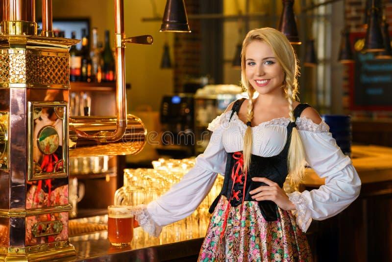 waitress fotos de stock