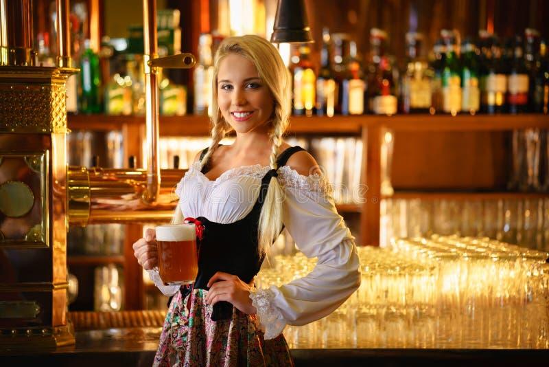 waitress imagem de stock