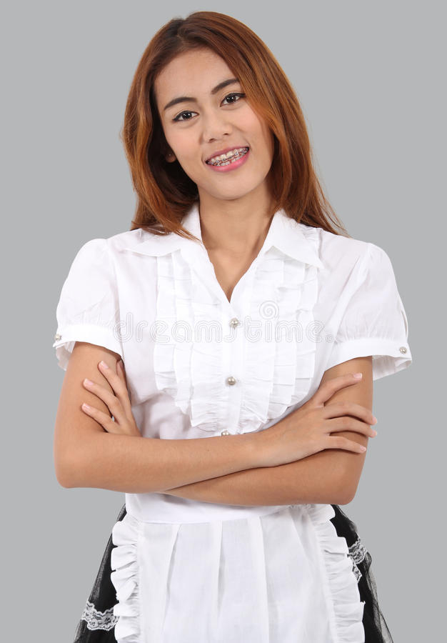 Download Waitress stock image. Image of occupation, service, female - 31469069