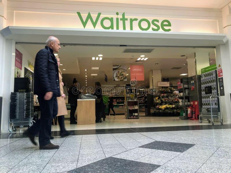 Waitrose store, London royalty free stock photos