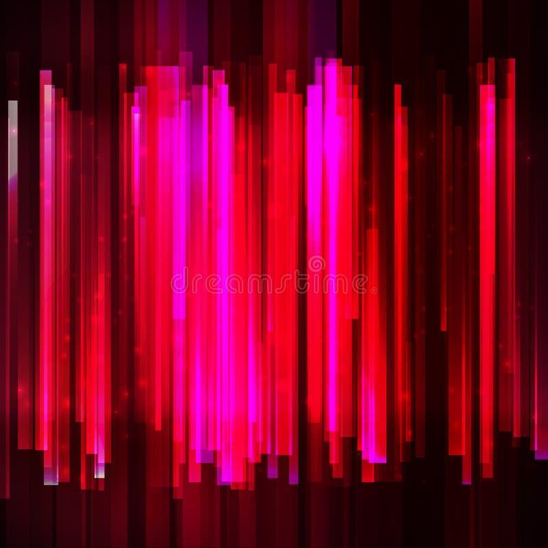 Wakacje czerwony kolorowy wyrównywacz ilustracja wektor