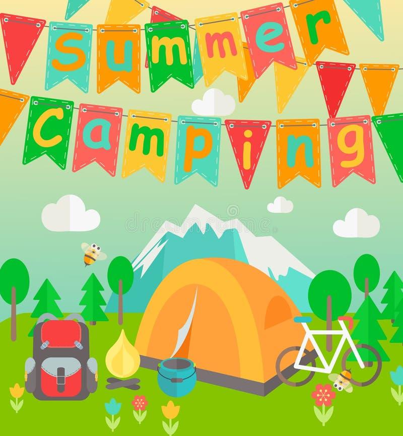 Wakacje Letni i obóz o temacie ilustracji