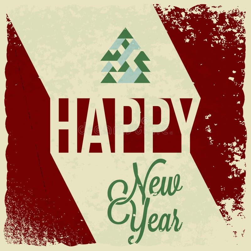 Wakacje - ramowy szczęśliwy wesoło bożych narodzeń nowy rok ilustracji
