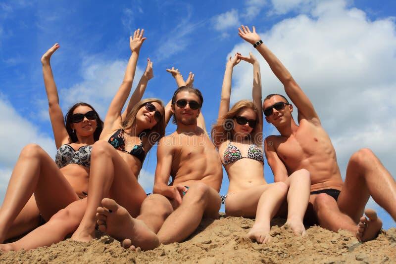 wakacje seashore obrazy stock