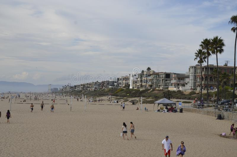 Wakacje w plaży obraz stock