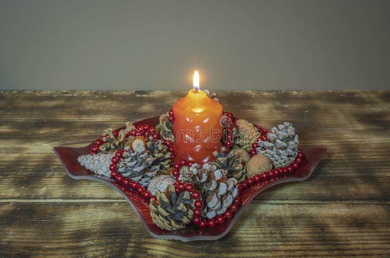 Wakacyjna dekoracja na drewnianym stole zdjęcia royalty free