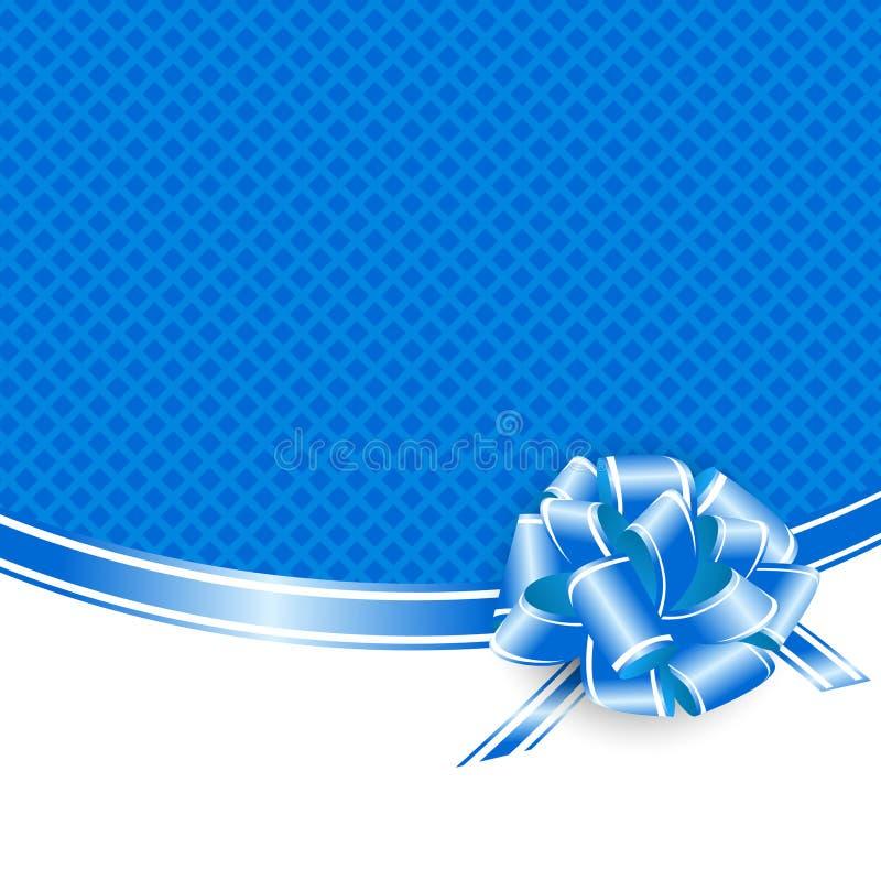 Wakacyjna błękit rama ilustracji