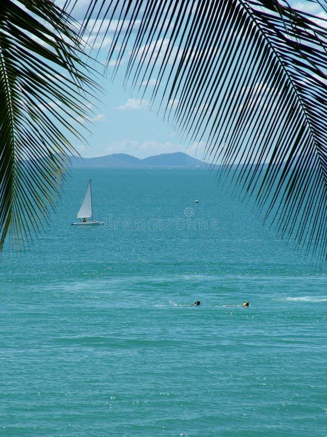 wakacyjna wyspę. zdjęcie royalty free