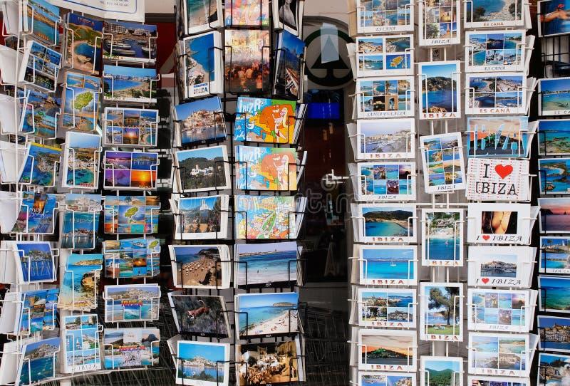 Wakacyjne pocztówki zdjęcie stock