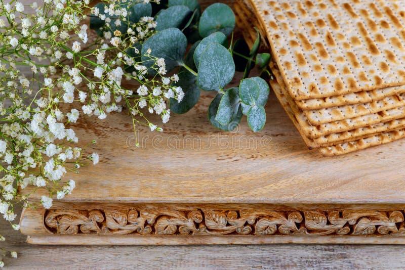 wakacyjnego macy świętowania matzoh passover żydowski chleb obrazy stock