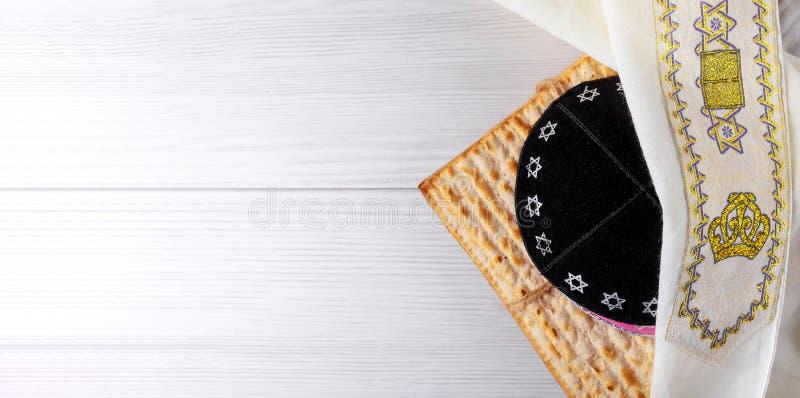 wakacyjnego macy świętowania matzoh passover chleba żydowski torah obraz royalty free