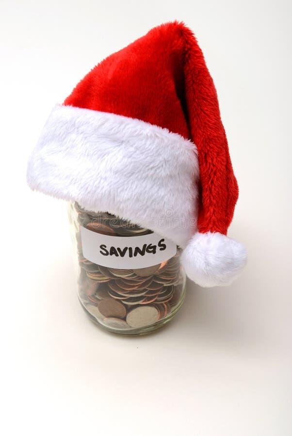 Wakacyjni savings przy bożymi narodzeniami fotografia stock