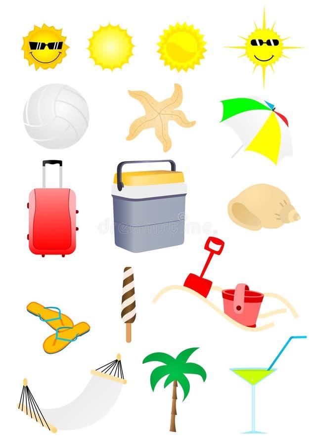 wakacyjny lato ilustracja wektor