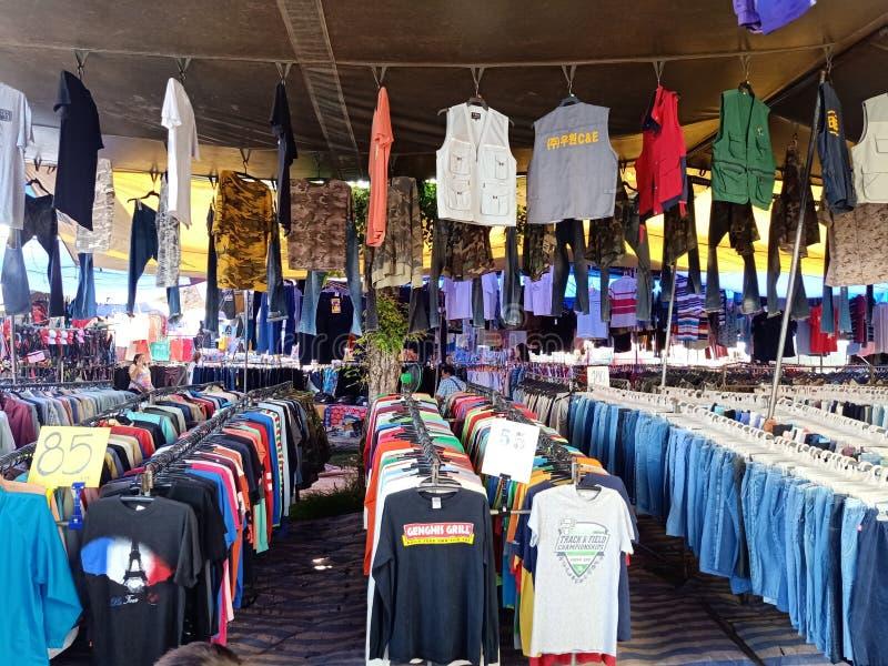 wakacyjny miejscowego rynek Thailand esan zdjęcia stock