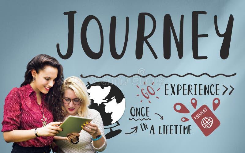 Wakacyjny podróży podróży wakacje wycieczki pojęcie zdjęcie royalty free