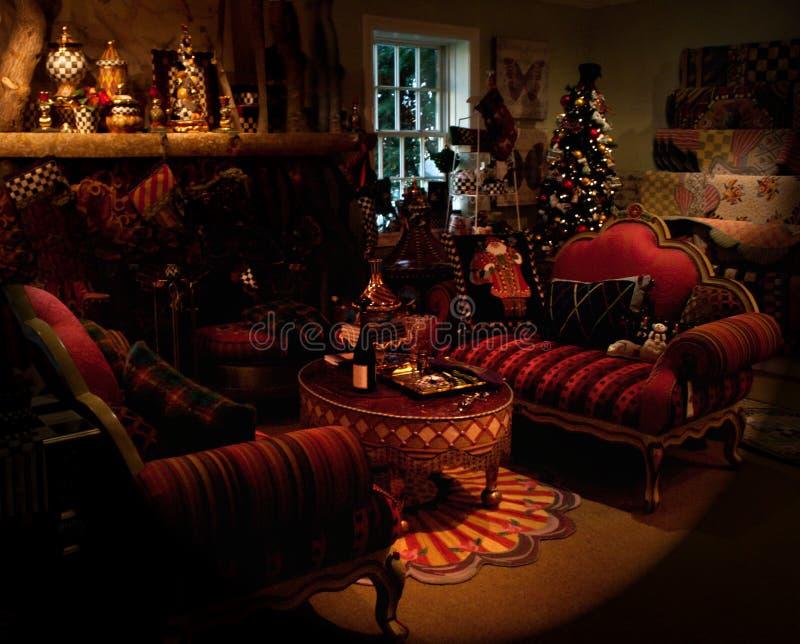 Wakacyjny Pokój Dzienny Fotografia Stock