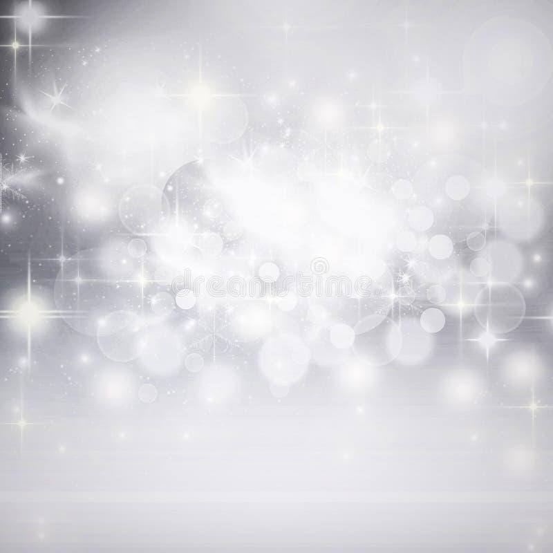 wakacyjny tło bożonarodzeniowe światła obrazy stock