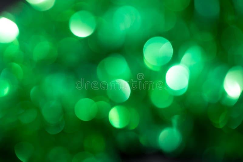 Wakacyjny tło zielony bokeh zdjęcia royalty free