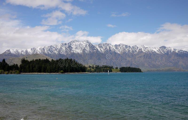 Wakatipu Lake royalty free stock image