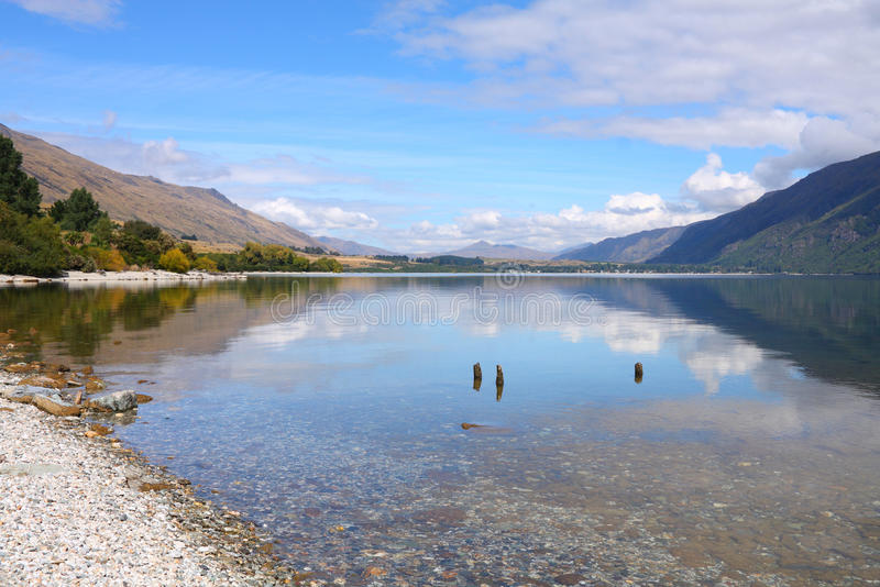 Wakatipu, Neuseeland stockfotos