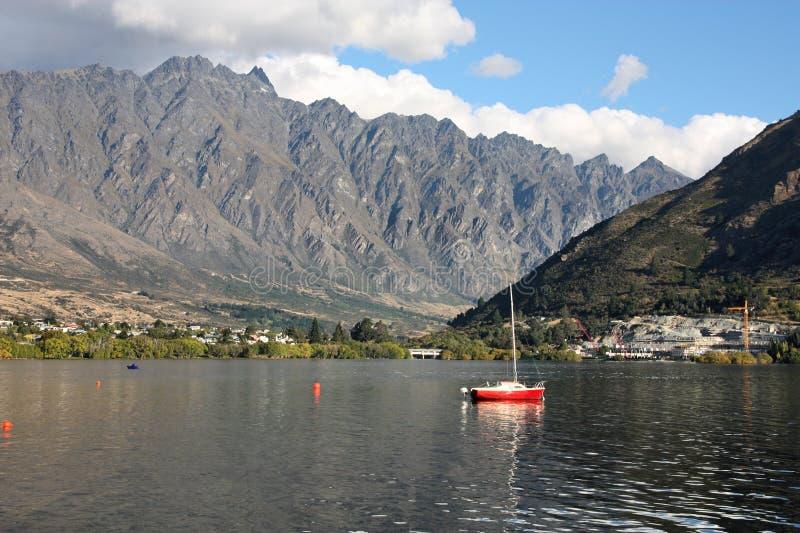 Wakatipu, Neuseeland lizenzfreies stockfoto