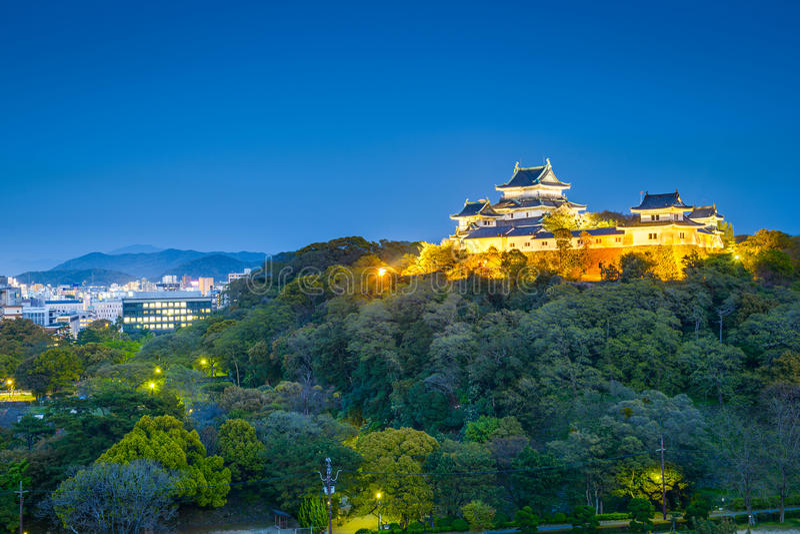 Wakayama Japan royaltyfri foto