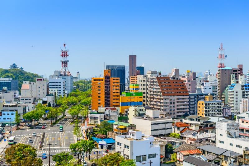 Wakayama miasto Japonia obrazy royalty free