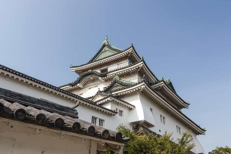 Wakayama-Schloss - West-Japan stockbild