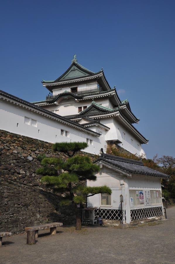 Wakayama slott royaltyfri fotografi