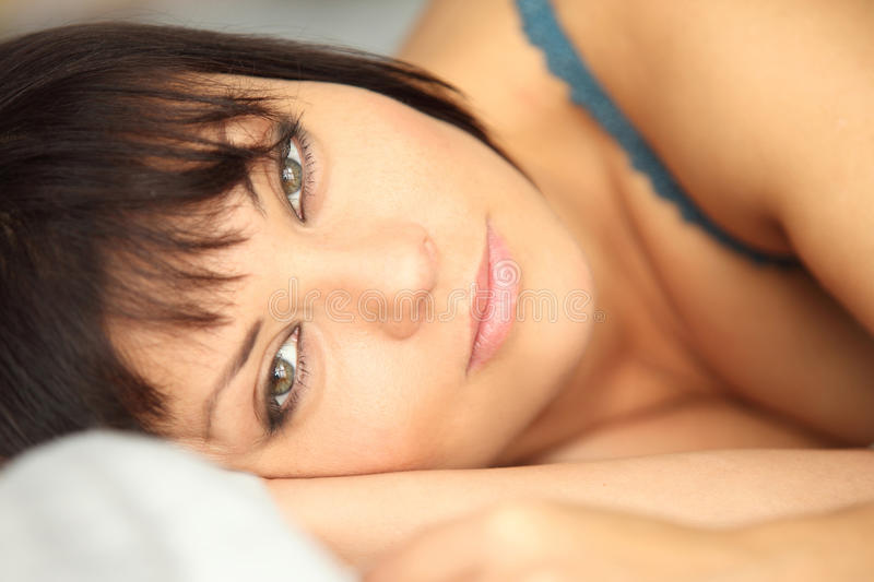 Download Wake up stock photo. Image of foreground, person, up - 27897854