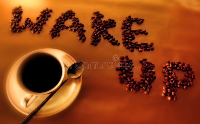 Wake-up stock image