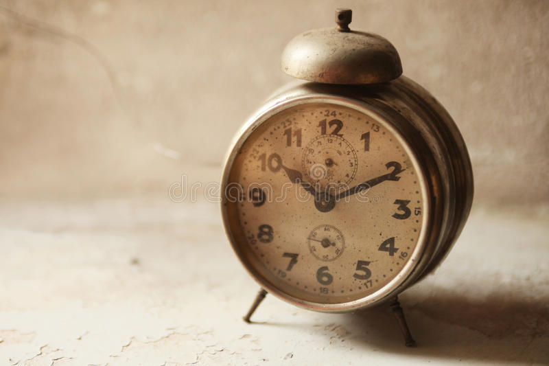 Wake-up clock royalty free stock images