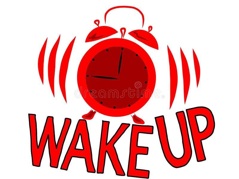 Wake up stock illustration