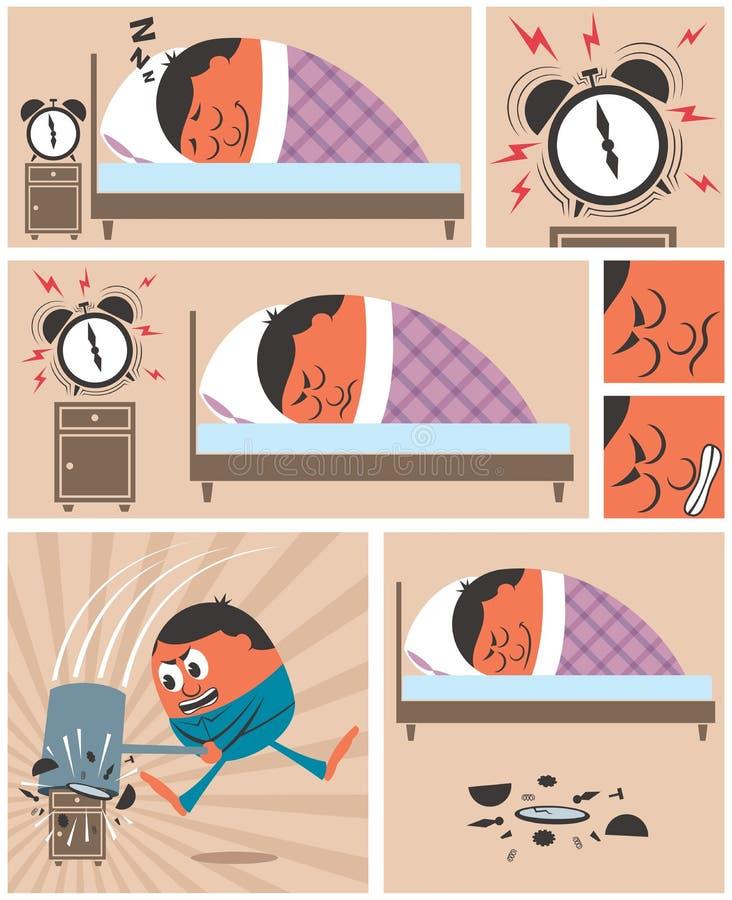Wake Up royalty free illustration