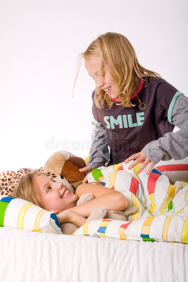 Wake up sister stock photos