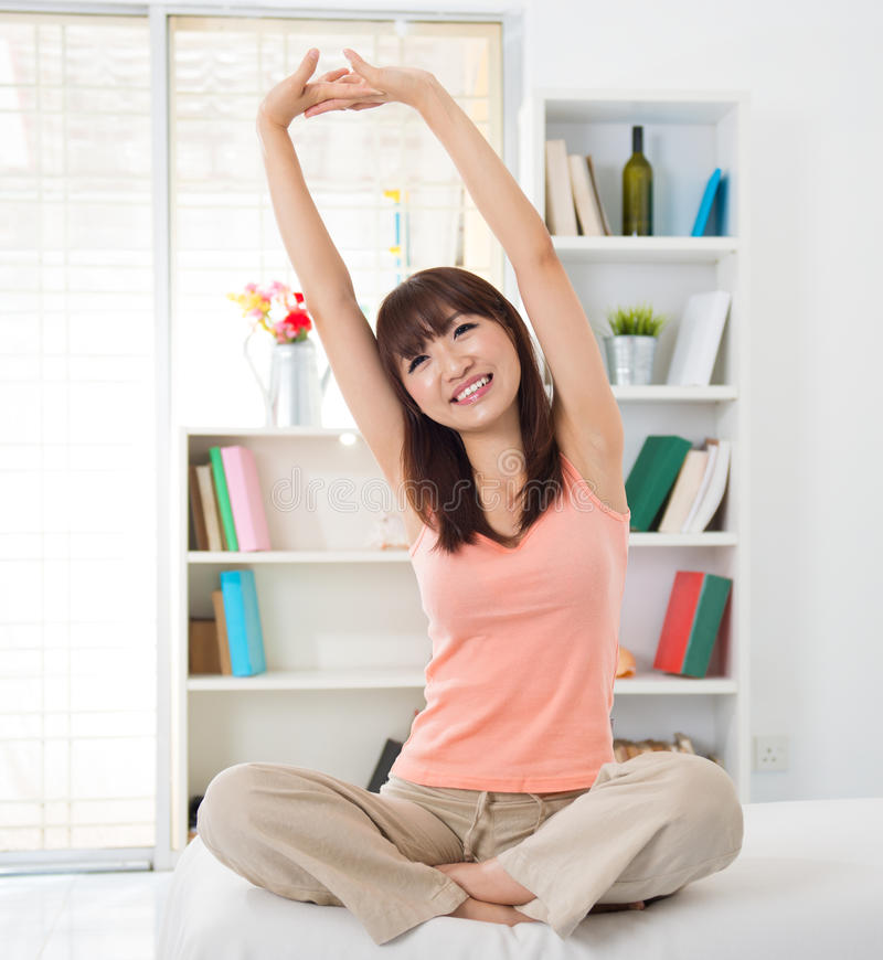 Download Wake up stretch stock photo. Image of cute, health, people - 27654116