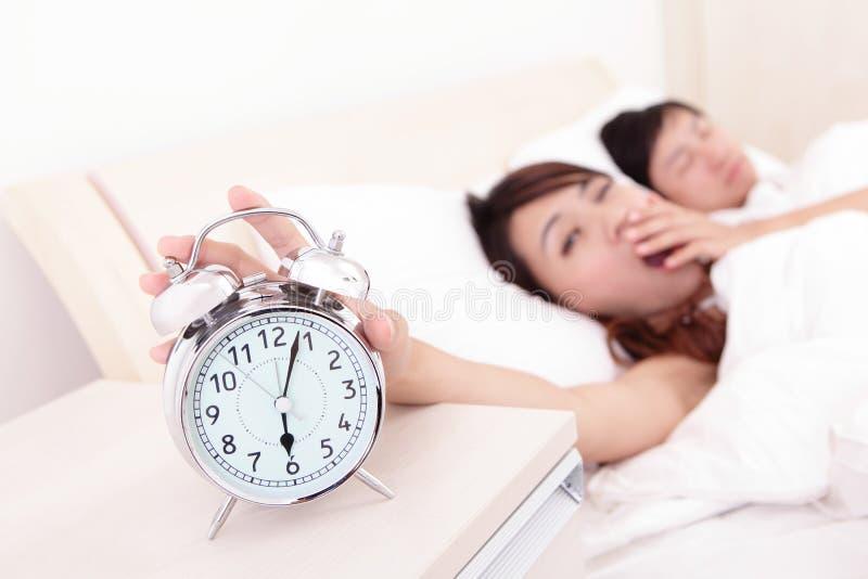 Download Wake up stock photo. Image of awaking, girl, quiet, couple - 34411404