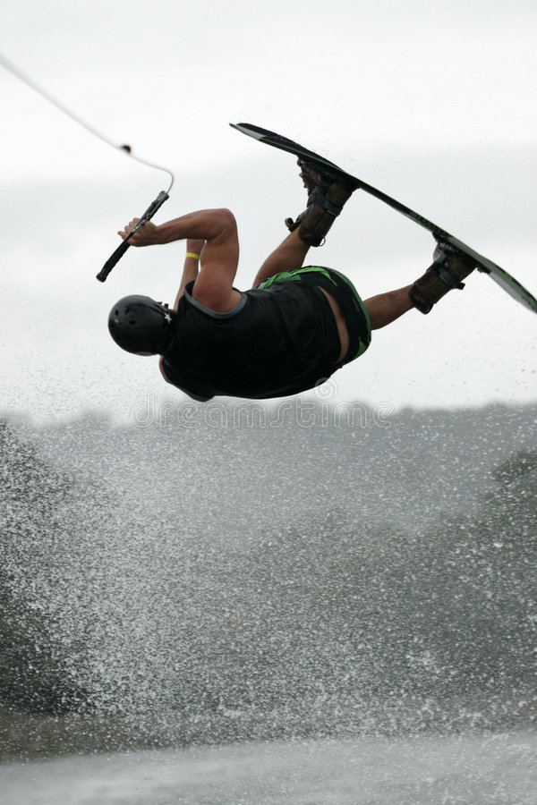 Download Wakeboard air stock image. Image of trick, action, wakeboard - 2465513