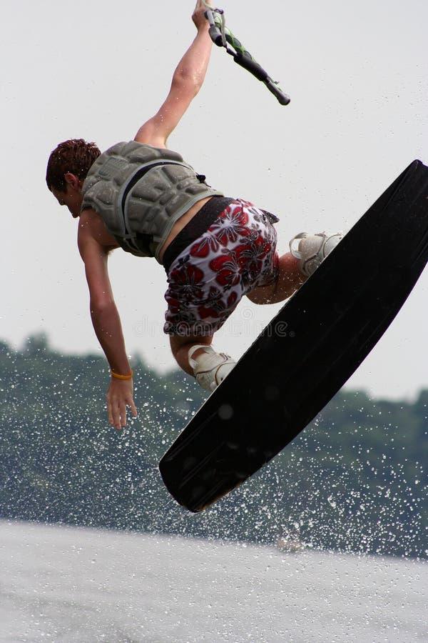 Wakeboard Kurve stockbilder