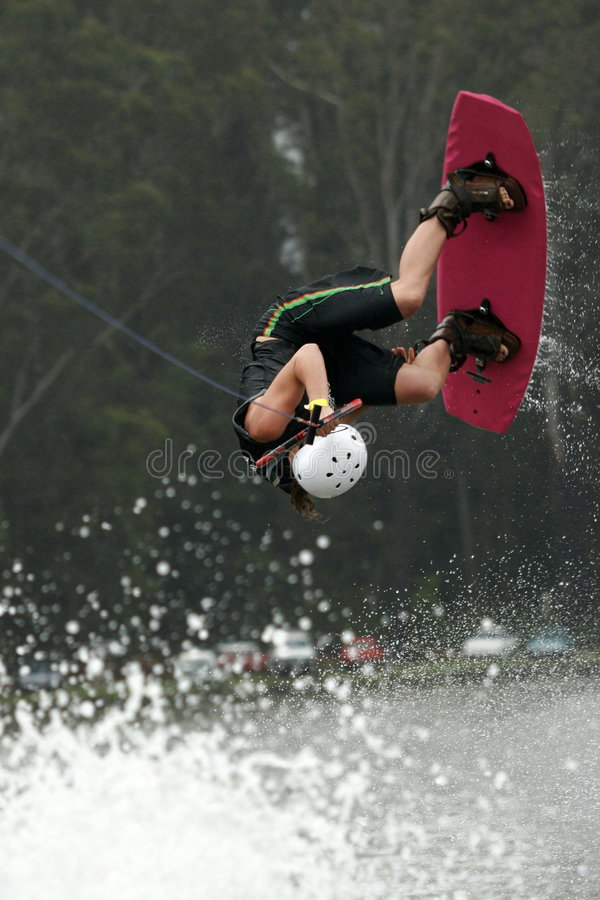 wakeboard powietrza obrazy stock