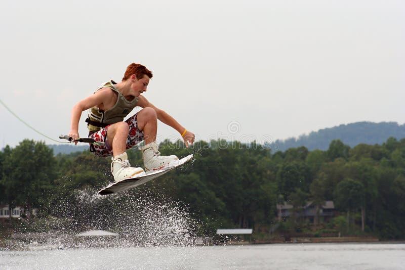 Wakeboard Trick lizenzfreies stockfoto
