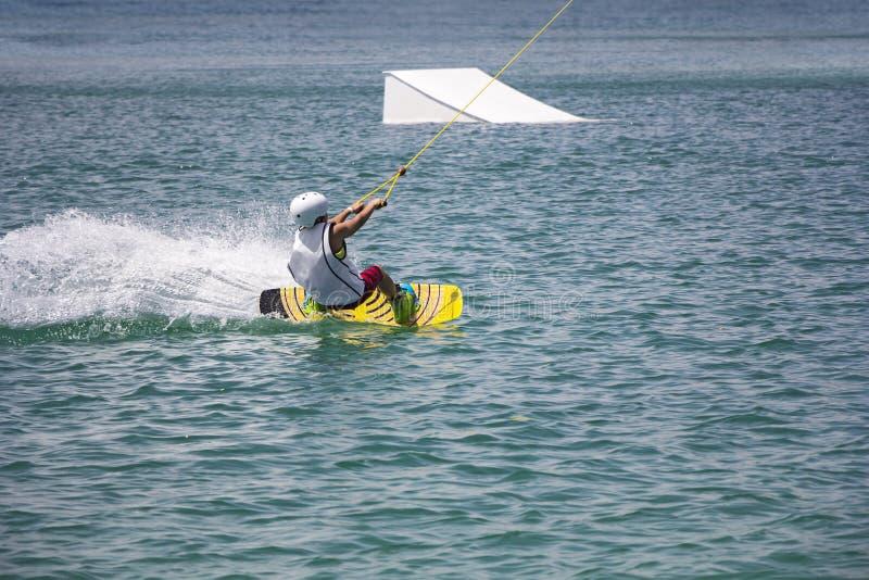 Wakeboarder fotos de stock royalty free