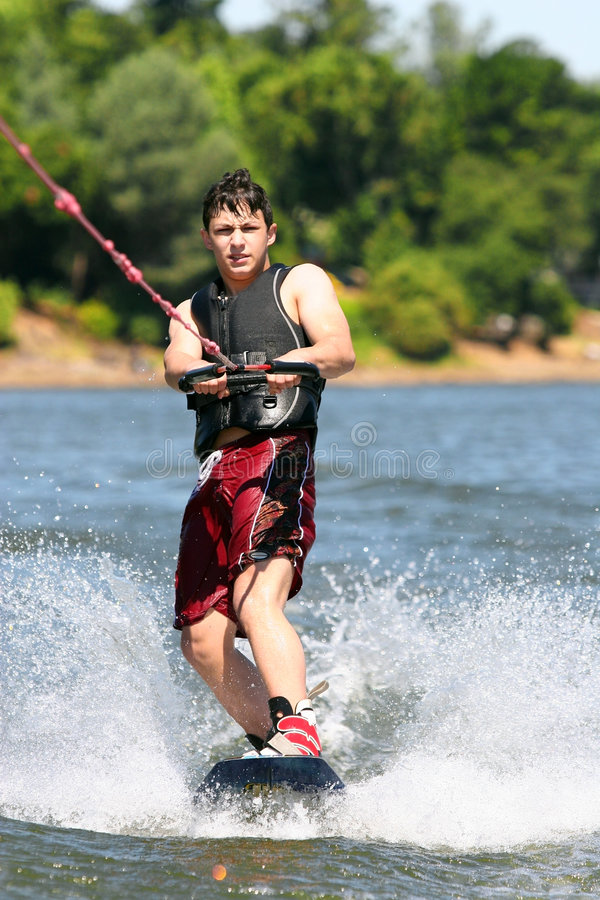 Wakeboarding fotografia de stock royalty free