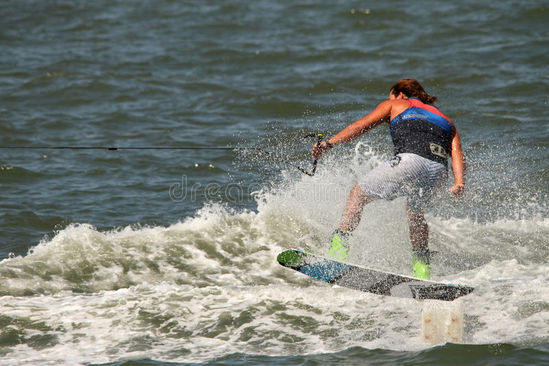 Download Wakeboarding Demonstration Editorial Photography - Image: 26659312