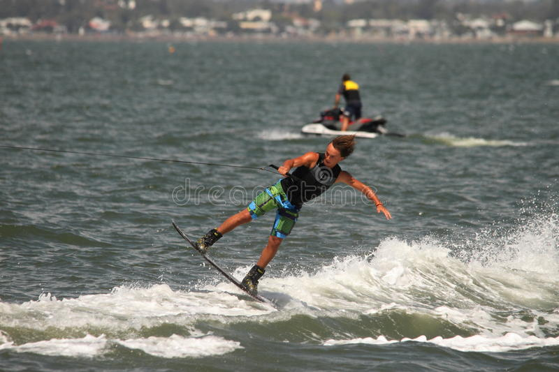 Wakeboarding demonstration