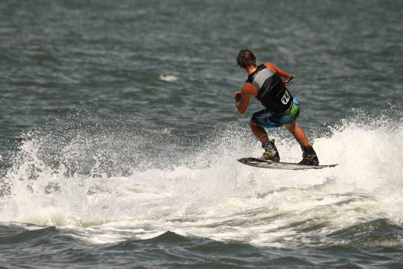 Download Wakeboarding demonstration editorial image. Image of boat - 26659535