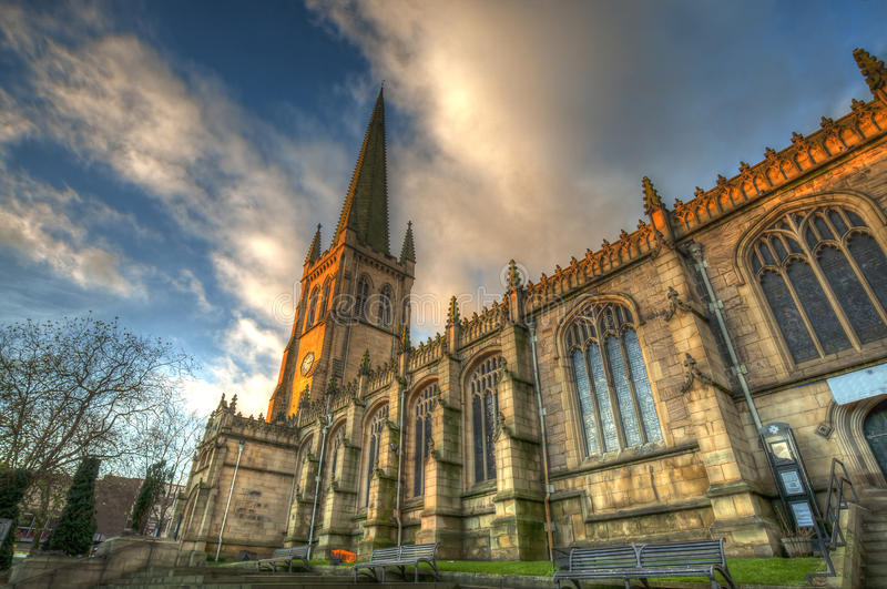 Wakefield Cathedral Le Royaume-Uni photographie stock