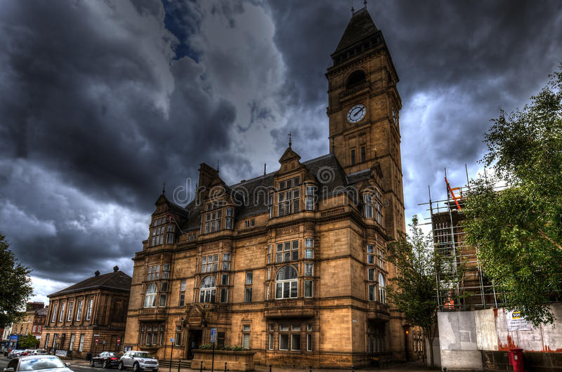 Wakefield Town Hall photos libres de droits