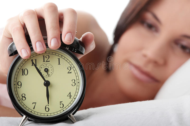 Waking up stock images