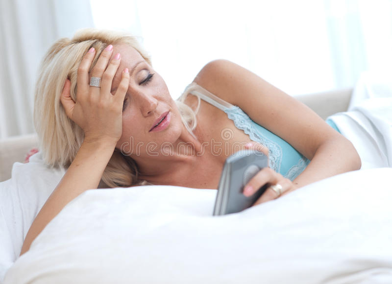 Download Waking up stock photo. Image of expression, alarm, thirties - 20249392